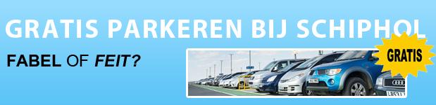 Kunt u echt parkeren bij Schiphol?